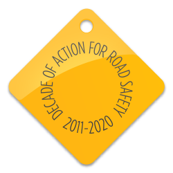 Logo for 'Decade of Action 2011-2020'